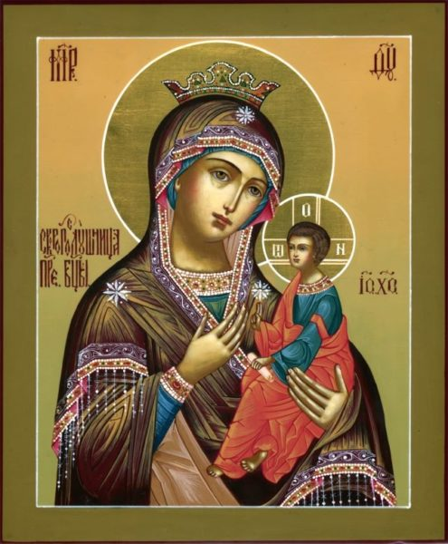икона Богородицы Скоропослушница