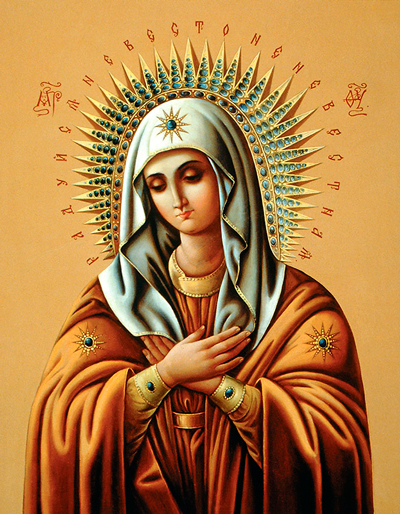 Икона Богородицы «Умиление» Серафимо-Дивеевская