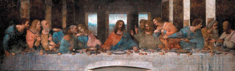Тайная вечеря - Леонардо да Винчи (1495-1498)