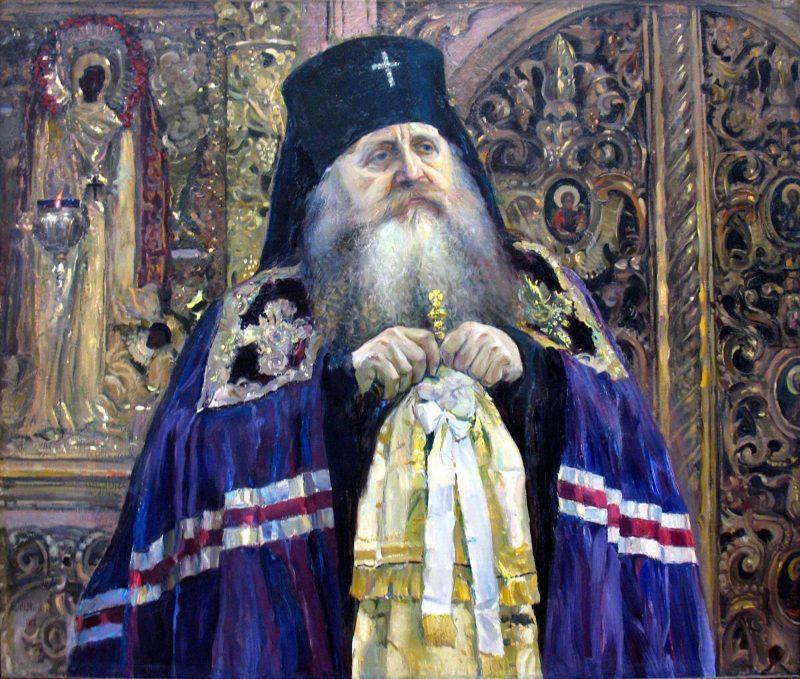 Митрополит Антоний (Храповицкий). Картина М. Нестерова. 1917 г.