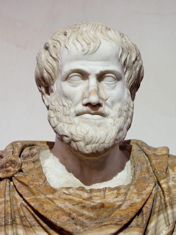 Бюст Аристотеля, римская копия оригинала Лисиппа. 384 г. до н.э. Православие отрицает учение Аристотеля о том, что человеческий эмбрион одухотворяется только лишь на 40-й день