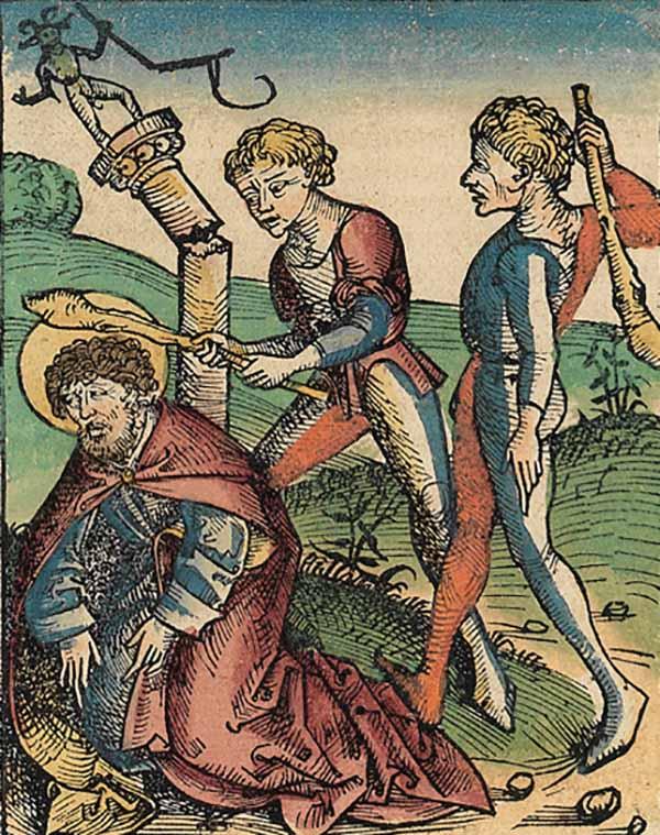Страшная казнь Святого Иуды произошла в Арарате в 70-е годы