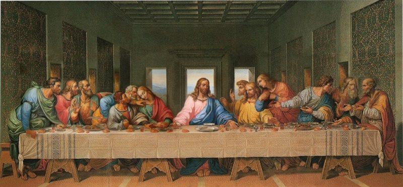 Первые христиане — это еретики, с точки зрения иудаизма («Тайная вечеря», Да Винчи)