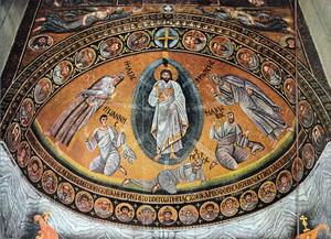 Изображение Преображения Господня в Синаском монастыре