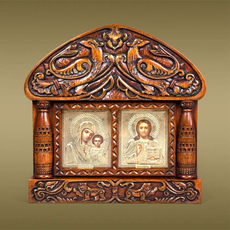 киот для иконы (главный ключ)