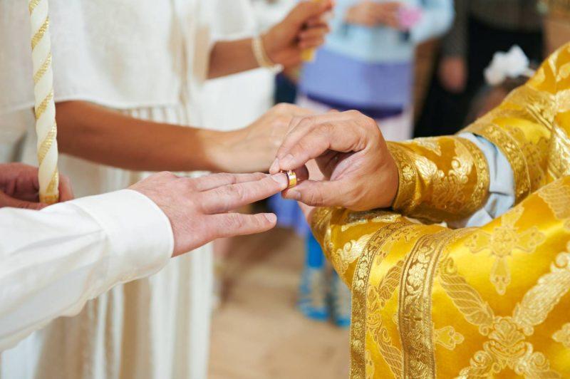 как проходит венчание