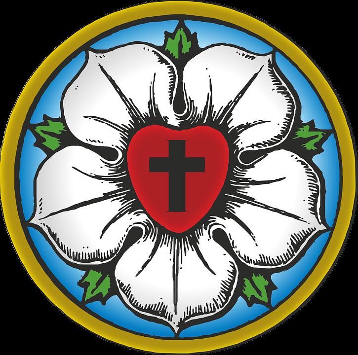 Протестантизм. Роза Лютера
