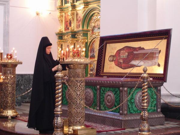 мощи священномученика Константина Богоявленского