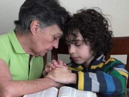 Молитва за здравия внука