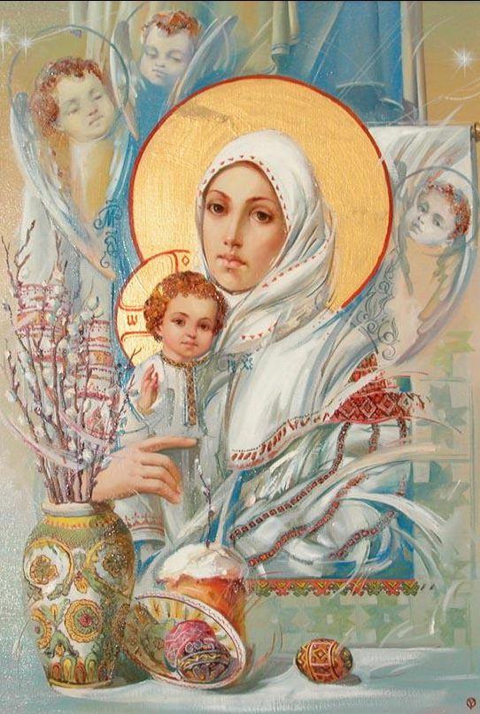 Сильная материнская молитва о детях