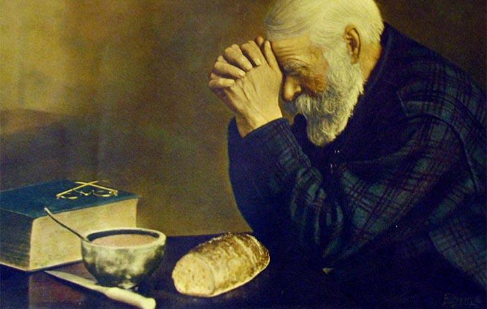 Моление аскета