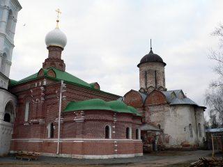 Николо-Пешношский монастырь в Луговом, церковь Сергия Радонежского