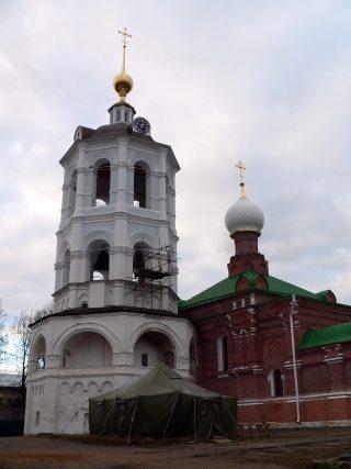 Николо-Пешношский монастырь в Луговом, колокольня