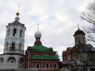 Николо-Пешношский монастырь в Луговом, купола
