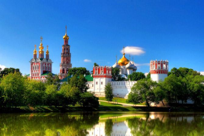 Самые известные монастыри России, Новодевичий женский монастырь