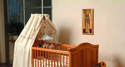 Образ над колыбелью малыша