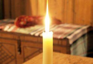 очистить дом свечой
