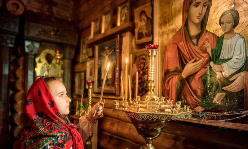 """О чём молятся перед иконой Божьей Матери """"Жировицкая"""""""