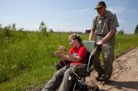 Лагерь для семей с «особыми» детьми в селе Давыдово
