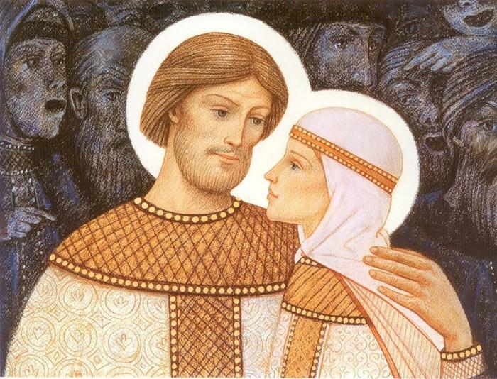 святые петр и феврония муромские покровители счастливого супружества