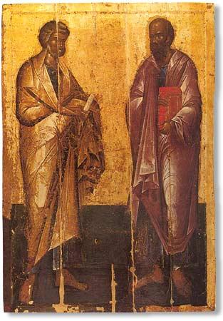 святые первоверховные апостолы петр +и павел
