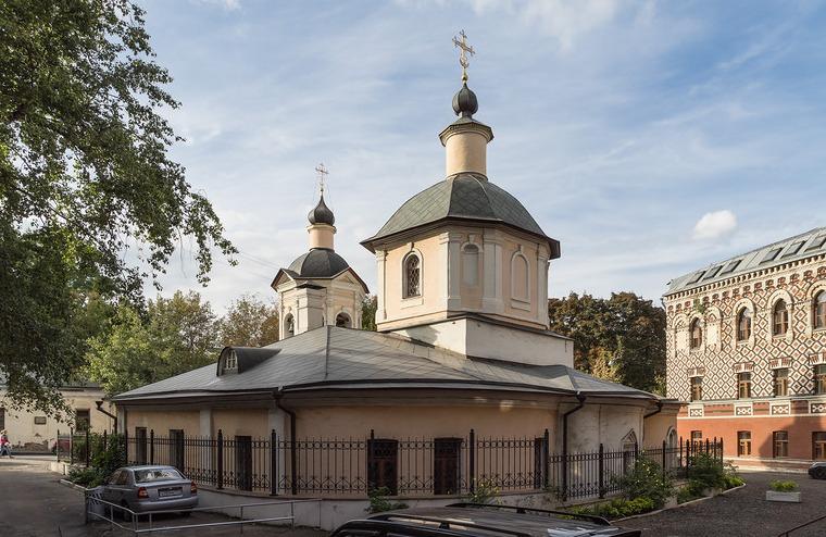Храм преподобного Сергия в Крапивниках или Чудом сохранившееся ...