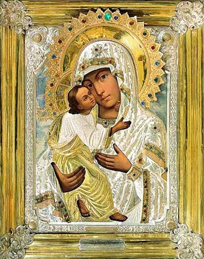 умиление икона божией матери о чем молятся