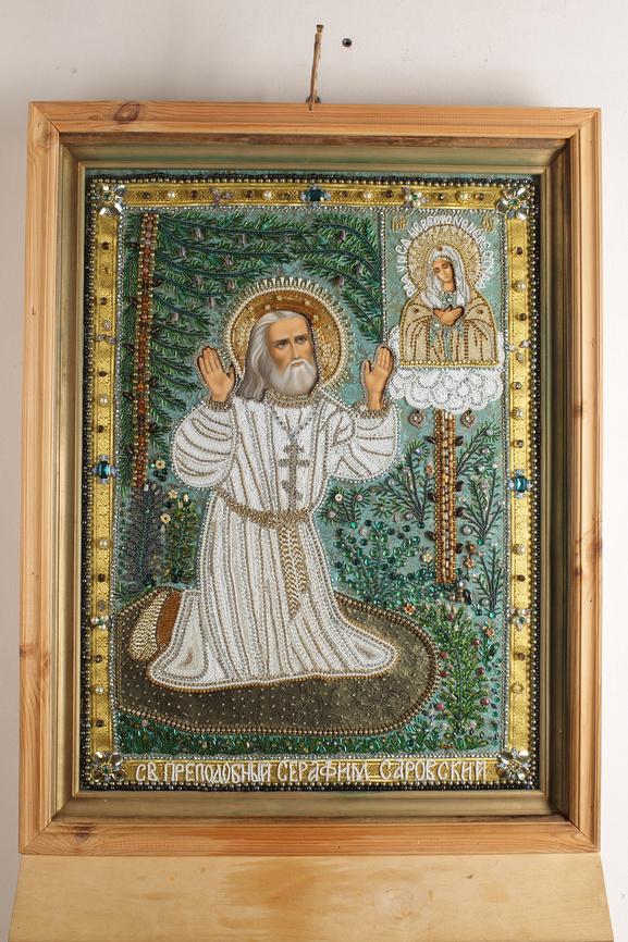 молитва Серафиму Саровскому. Икона