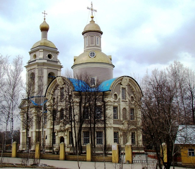 Храм Николая Чудотворца на Троекуровском кладбище