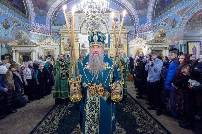 Божественная литургия в день памяти святой блаженной Ксении Петербургской