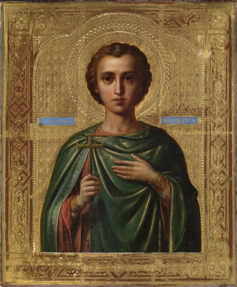 Святой мученик Вонифатий: молитва, икона, житие