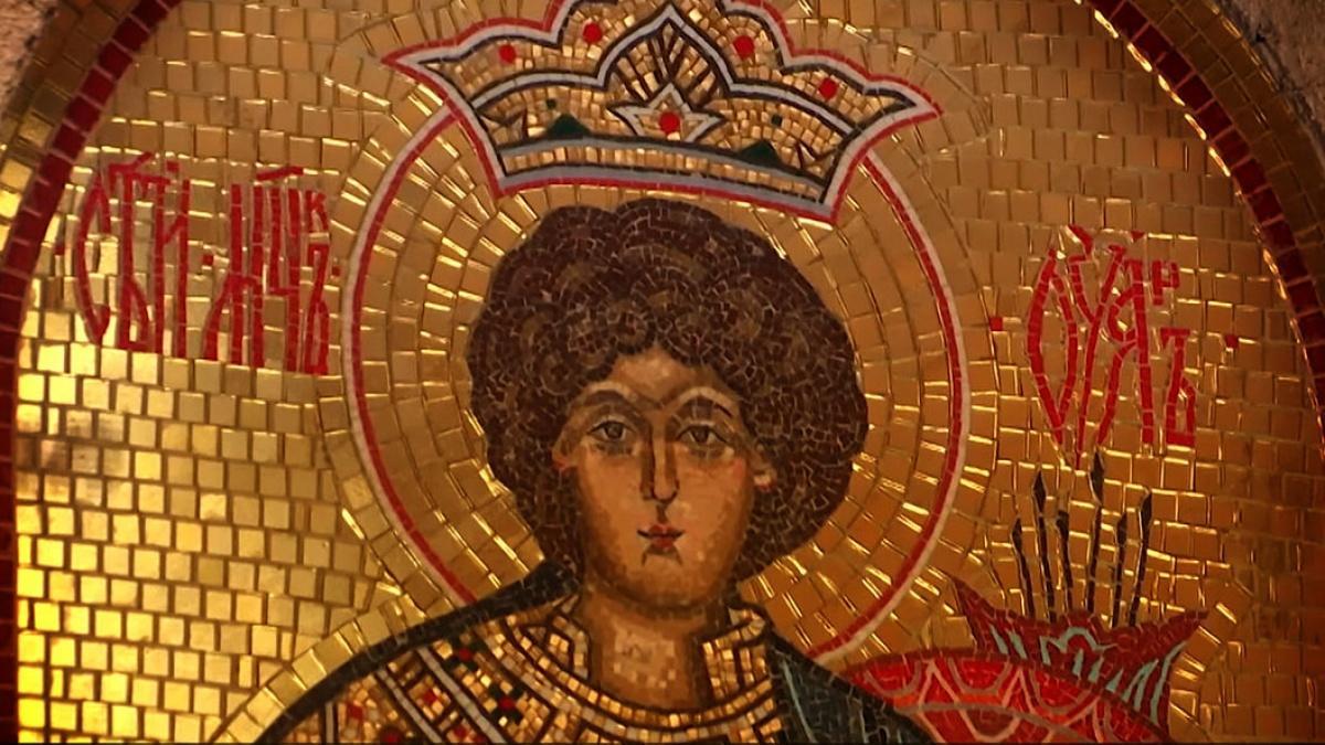 Икона святому мученику Уару